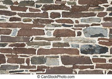 wand, stein, hintergrund, mauerwerk, beschaffenheit