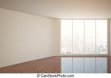 Wand, zimmer, leer. Stadt, auf, zimmer, treppenaufgang,... Zeichnung - Suche Clipart ...