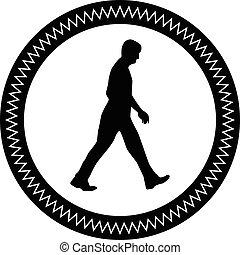 wandeling, mensen