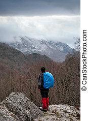 wanderer, bergen