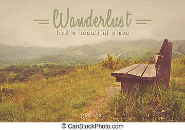 Wanderlust travel inspiration quotes - Find a beautiful...