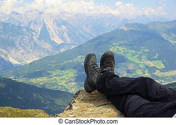 Wanderschuhe - walking boots 01
