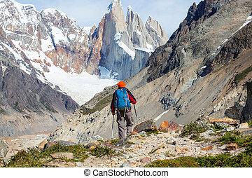 wanderung, patagonia