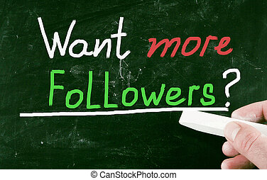 want more followers?