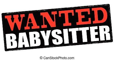 babysitter needed ads