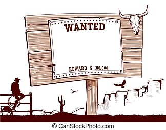 Wanted paper on wood board for text.