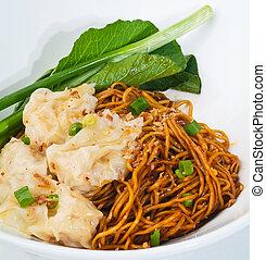 Wanton noodle, dried wanton noodle - Wanton noodle. Malaysia...