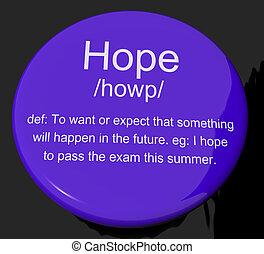 wants, définition, bouton, voeux, espoirs, projection, espoir