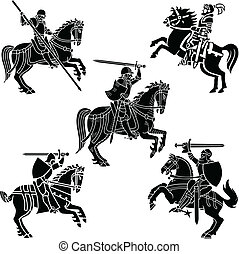 wapenkunde, ridders