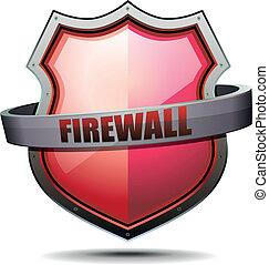 wapenschild, firewall
