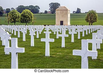 War Cemetery - La Somme - France