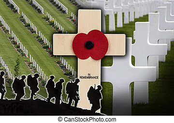 War Cemetery - The Somme - France - In Remembrance of Fallen...