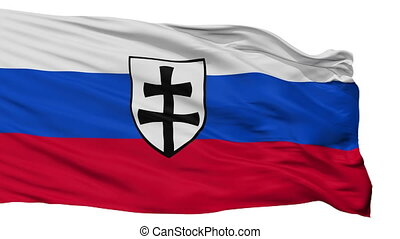 War Ensign Of The First Slovak Republic Flag Isolated...