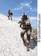 War in mountains
