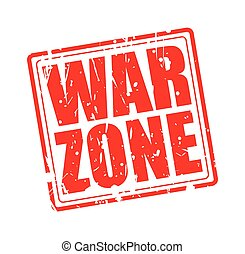 War zone red stamp text on white
