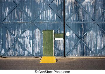 Warehouse exterior.