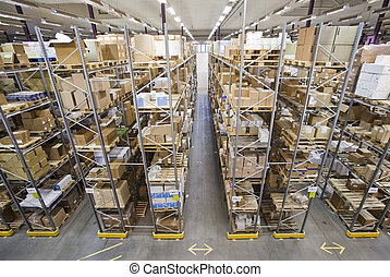 Warehouse - Interior of a warehouse