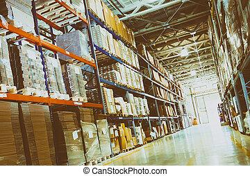 Warehouse logistics is important
