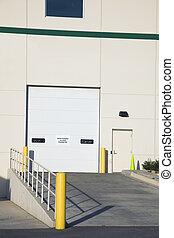 Warehouse - Ramp for semi trucks