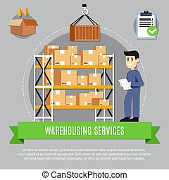 Warehouse Services Composition