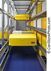 Warehouse shuttle system - Automated tranport shuttle system...