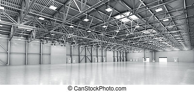 warehouse., tom, illustration, 3