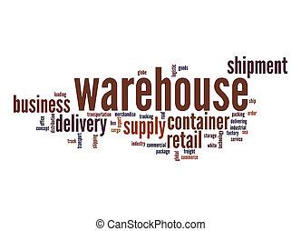 Warehouse word cloud