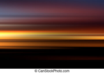Warm Blur Background - A blur abstract with warm red, purple...