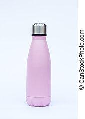 Warm bottle isolated on white background