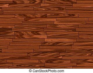 warm brown parquet floor