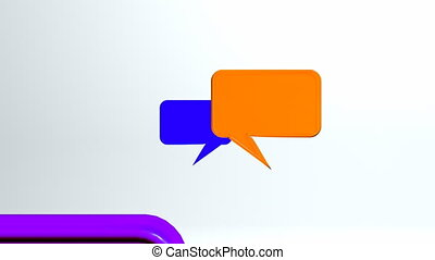 This conversation animation can use for any video production, TV Broadcasting, web animation etc.