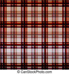 Warm fuzzy checkered chocolate abstract background