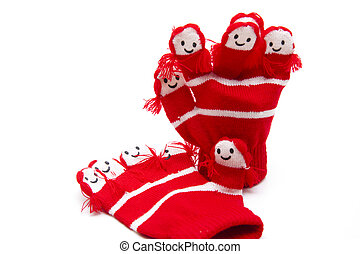 Warm hand shoes
