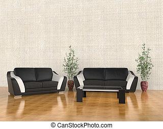 Warm Living room furniture set
