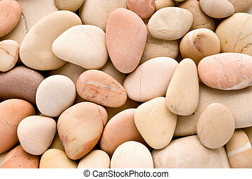 warm pebbles texture