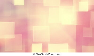 warm shining squares loop