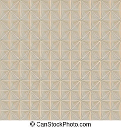 warm square cloth pattern - warm beige fabric with blocked...