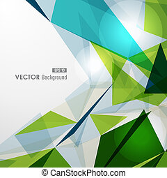 Modern colorful transparent triangles abstract background illustration. EPS10 vector with transparency organized in layers for easy editing.