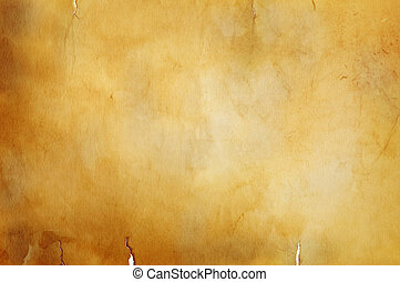 warm vintage background - great old grunge paper texture(...