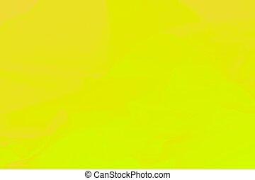 Warm vivid yellow abstract blurred horizontal background