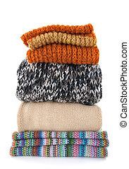 Warm wool clothing