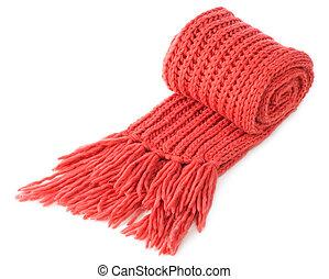 Warm wool scarf