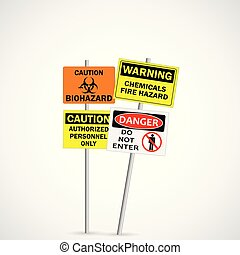 Warning and Caution Signs