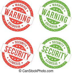 Warning And Security Seals