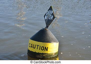 Warning buoy