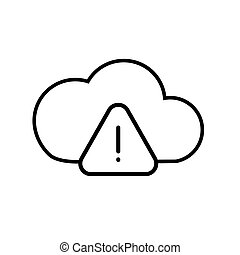 Warning cloud data