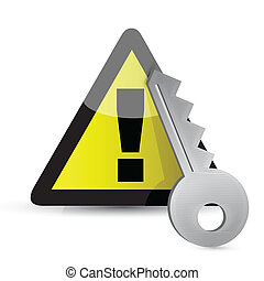 warning key concept