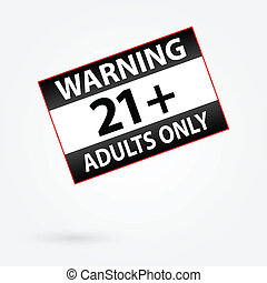 Only Adults Parental Control - Warning Only Adults Parental...