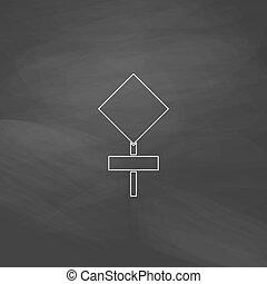 warning sign computer symbol