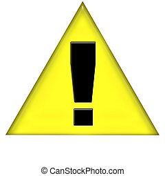 Warning Sign - A warning / urgency icon.